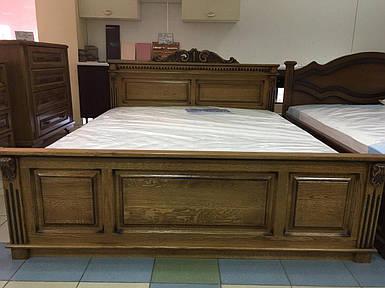 Кровать Афина (массив дуба)