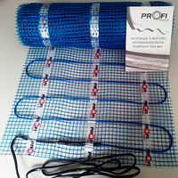 Теплый пол электрический 0,75м2 PROFI THERM Eko мат , фото 1