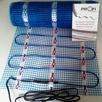 Теплый пол электрический 1,5м2 PROFI THERM Eko мат , фото 1