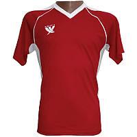 Футболка футбольная SWIFT 12 LIONS TACTEL Красно-белая (Размер М/46)