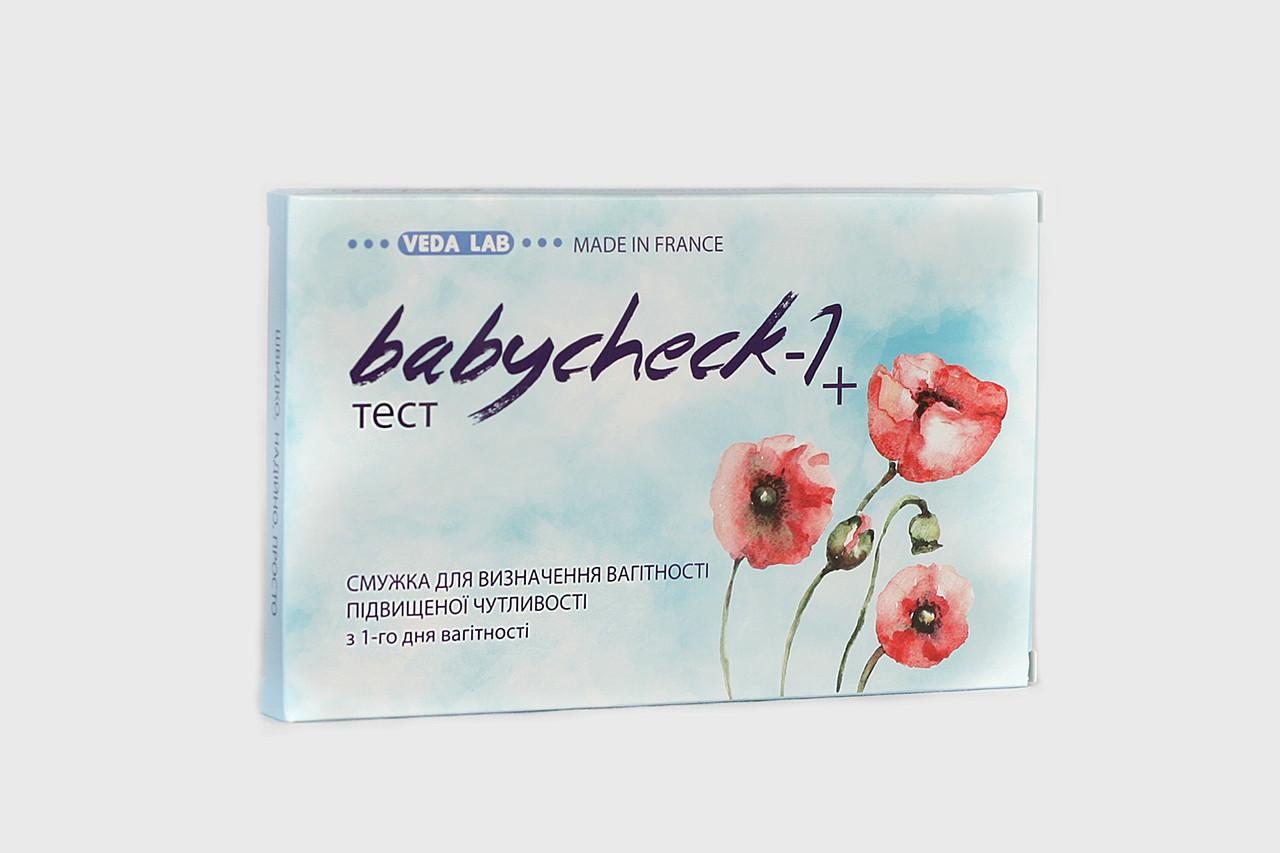 Тест для определения беременности BABYCHECK-1 +