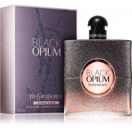 Жіноча парфумована вода Ys Snt Lrnt Black Opium Floral Shock, 90 мл