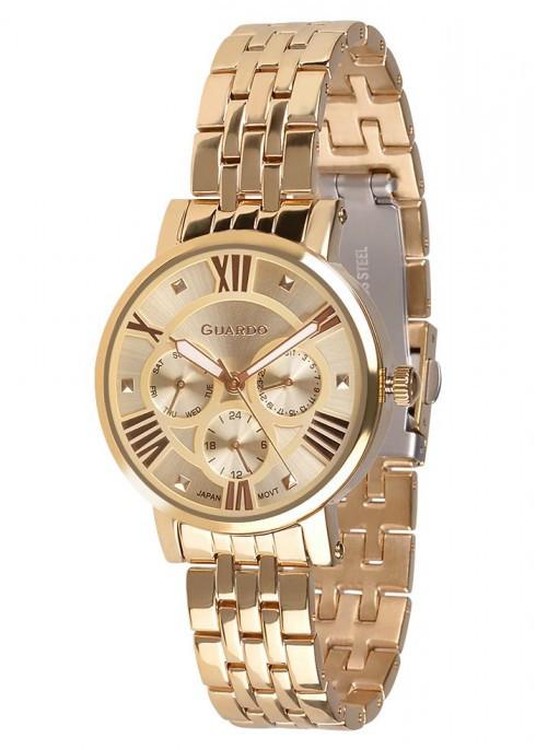 Жіночі наручні годинники Guardo P11265(m) GG