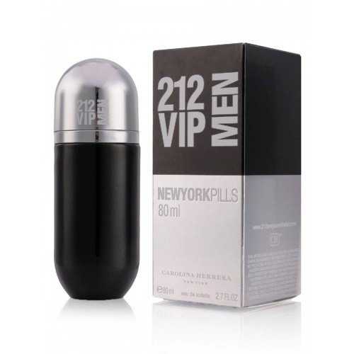 Мужская туалетная вода Carolina Herrera 212 VIP MEN New York Pills, 80 мл