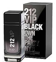 Чоловіча парфумована вода Carolina Herrera 212 VIP Black Own The Party NYC, 100 мл