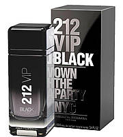 Мужская парфюмерная вода Carolina Herrera 212 VIP Black Own The Party NYC, 100 мл