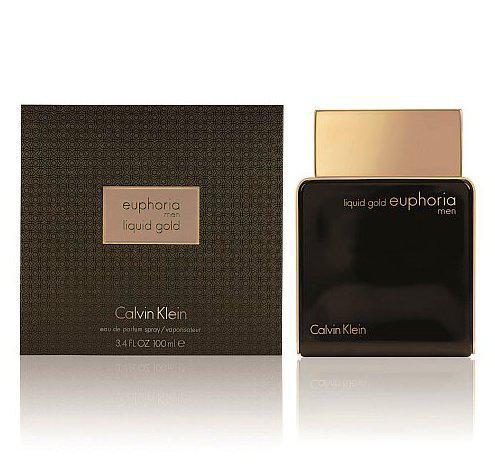 Мужская парфюмерная вода Calvin Klein Euphoria Men Liquid Gold 100 мл