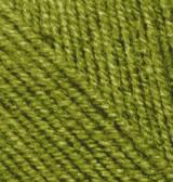 Нитки Alize Cashmira 233 Масло зеленое