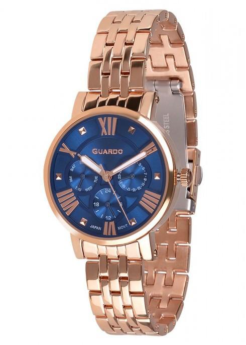 Женские наручные часы Guardo P11265(m) RgBl