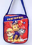 Детская сумка для мальчиков Щенячий патруль 19*16 см, фото 2