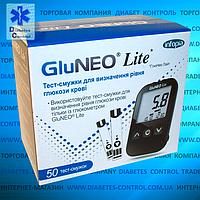 Тест-полоски для глюкометра Gluneo Lite / Глюнео Лайт, 50 шт.