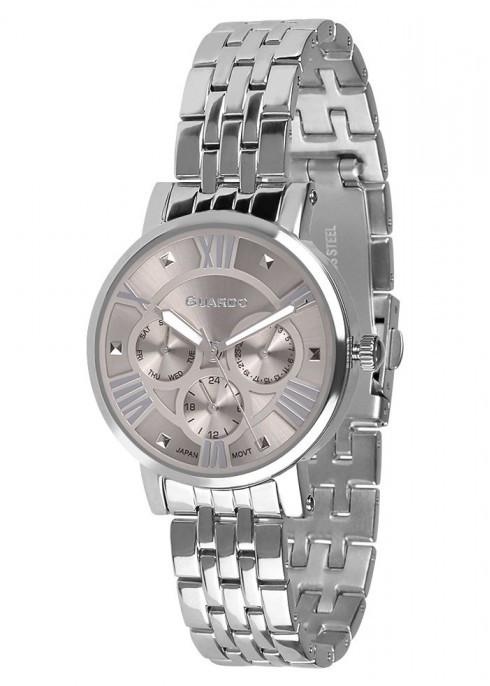Жіночі наручні годинники Guardo P11265(m) SGr
