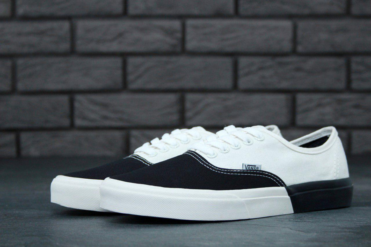 Женские Кеды Vans Autentic Black White 58bcbe1c8c636
