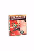 Презервативы Freestyles Ribbed №3