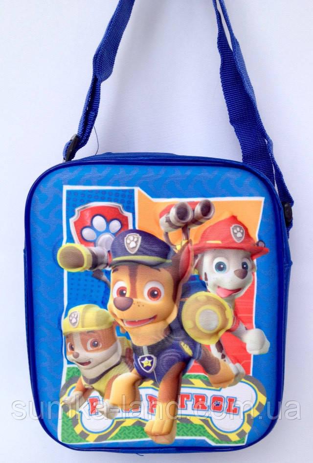 Детская сумка для мальчиков Щенячий патруль 19*16 см