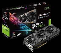 Видеокарта GeForce GTX Ti 11GB GDDR5X OC (STRIX-GTX1080TI-O11G-GAM)