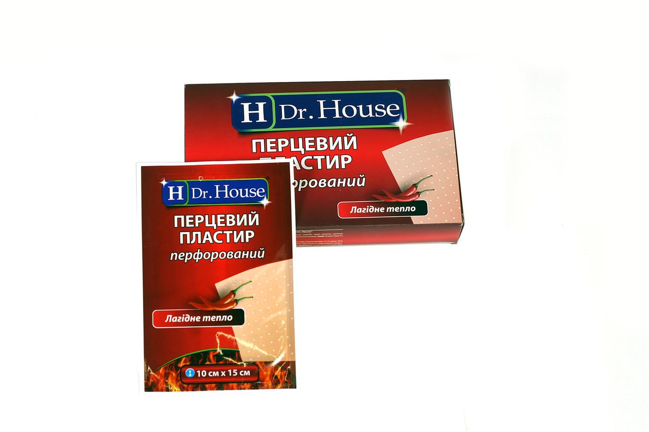 Пластырь перцовый перфорированный Dr. House 10смх15см