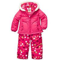 Комбинезон зимний для девочки розовый OshKosh