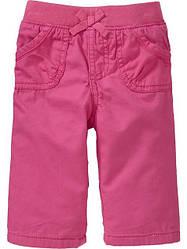 Штаны для девочки розовые Old Navy