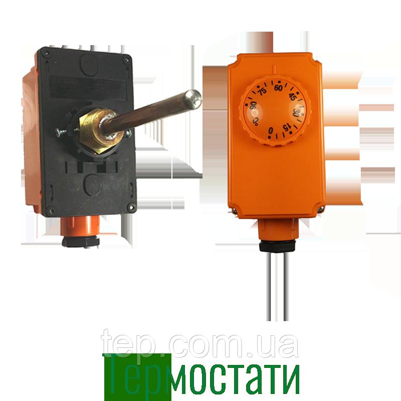 Погружной термостат 0 - 90ºС, 100мм длина капиляра, Imit TC2