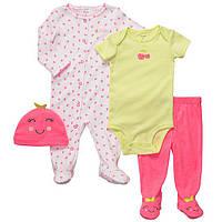 Комплект для новорожденной девочки Вишенка Carters