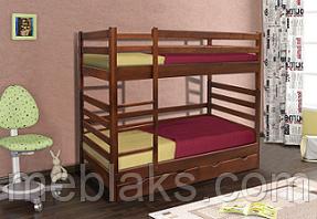 """Кровать двухъярусная """"Засоня"""" (сосна) в спальню (серия Уют)  Микс Мебель"""