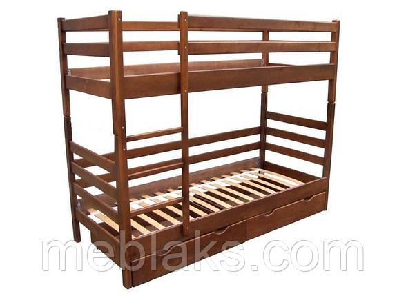 """Кровать двухъярусная """"Засоня"""" (сосна) в спальню (серия Уют)  Микс Мебель, фото 2"""