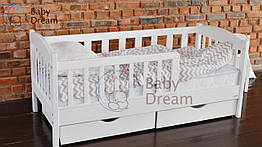 """Дитячі ліжка від 3 років з бортиками """"Ассоль"""""""