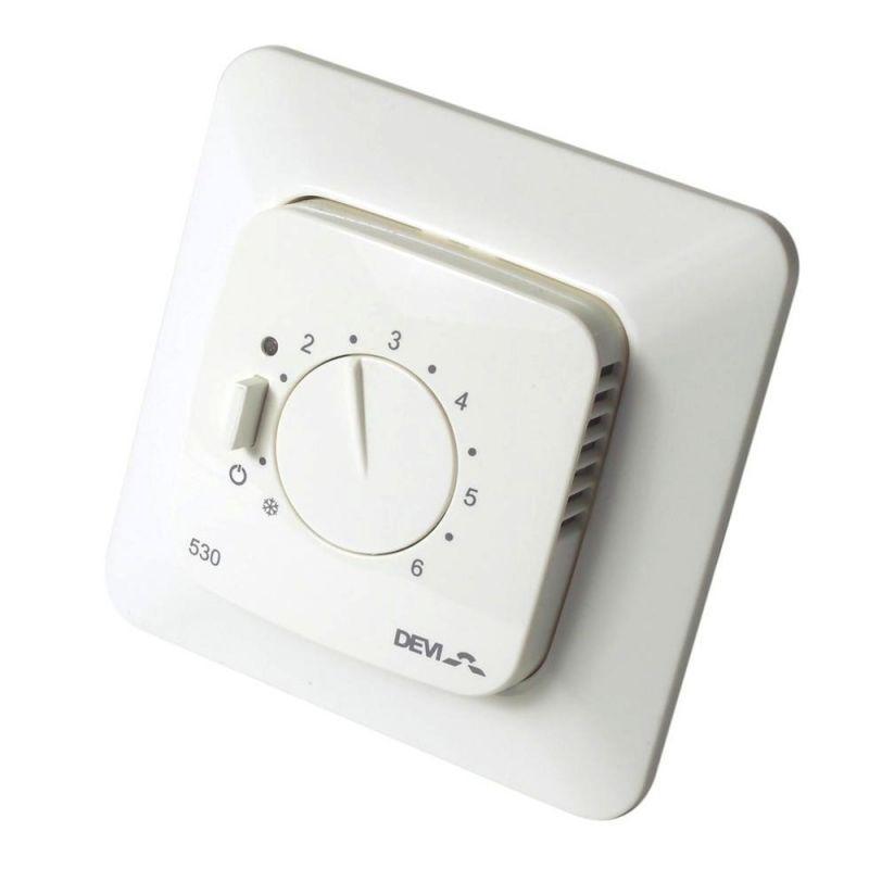 Терморегулятор для теплої підлоги Devireg 530 (деві ред 530)