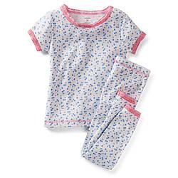 Пижама для девочки хлопок Вишенка Carters
