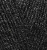 Нитки Alize Cashmira 521 темно-серый меланж