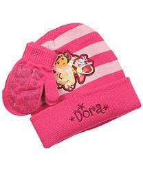 Шапочка и рукавички для девочки Nickelodeon