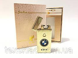 Запальничка електроімпульсна BMW Gold x1
