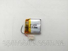 Аккумулятор 042020 для China (Li-ion 3.7В 200мА·ч), (20*20*4 мм)