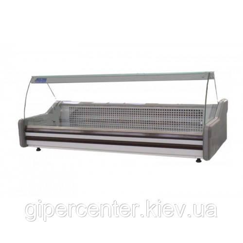 Настольная холодильная витрина Айстермо ВХСн 1.2 (0...+8°С, 1200х945х600 мм, прямое стекло)