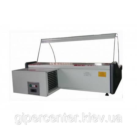 Настольная холодильная витрина Айстермо ВХСн 1.2 (0...+8°С, 1200х945х600 мм, прямое стекло), фото 2