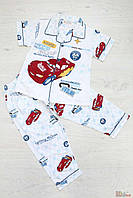 """Пижама для мальчика с рисунком """"Тачки"""" (146 см)  No name 2100000259656"""