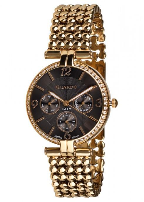 Жіночі наручні годинники Guardo P11378(m) GB