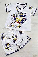 Пижама для мальчика с шортиками (110 см)  No name 2000000173917