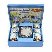 Набор чайный Helios 6 чашек+6 блюдец 170мл