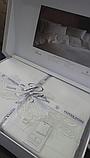 Комплект постельного белья сатин люкс Pepper home евро размер Eliza, фото 7