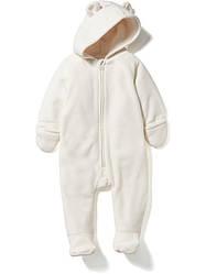 Комбинезон теплый для малыша молочный OldNavy