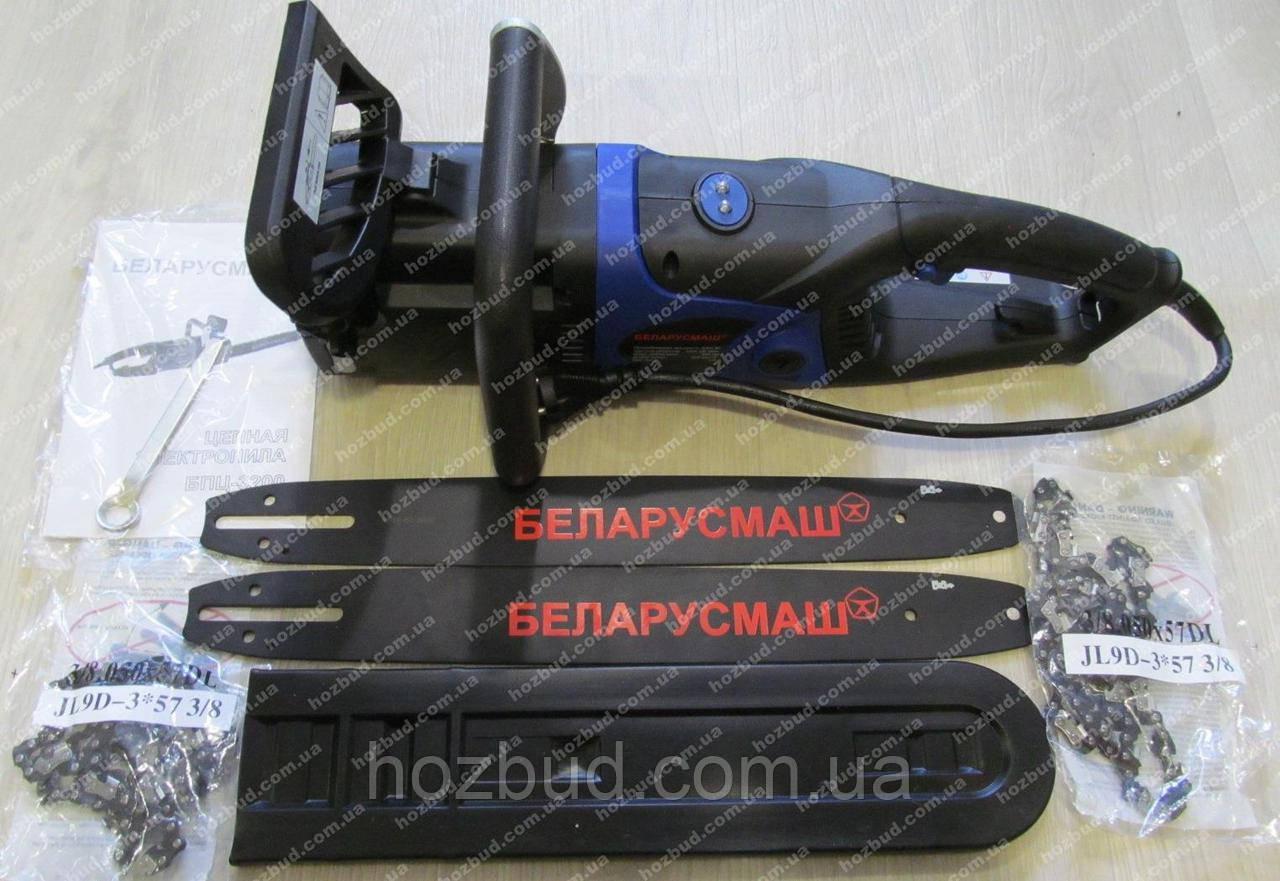 Електропила Беларусмаш БПЦ-3700 (2 шини і 2 ланцюга)