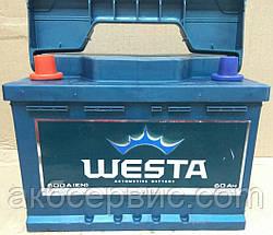 Акумулятор автомобільний Б/У Westa 6CT-60 Аз Premium