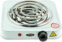 ЭЛЕКТРОПЛИТА спиральная WIMPEX HP WX-100B 1000W, многофункциональная плита,электрическая плитка