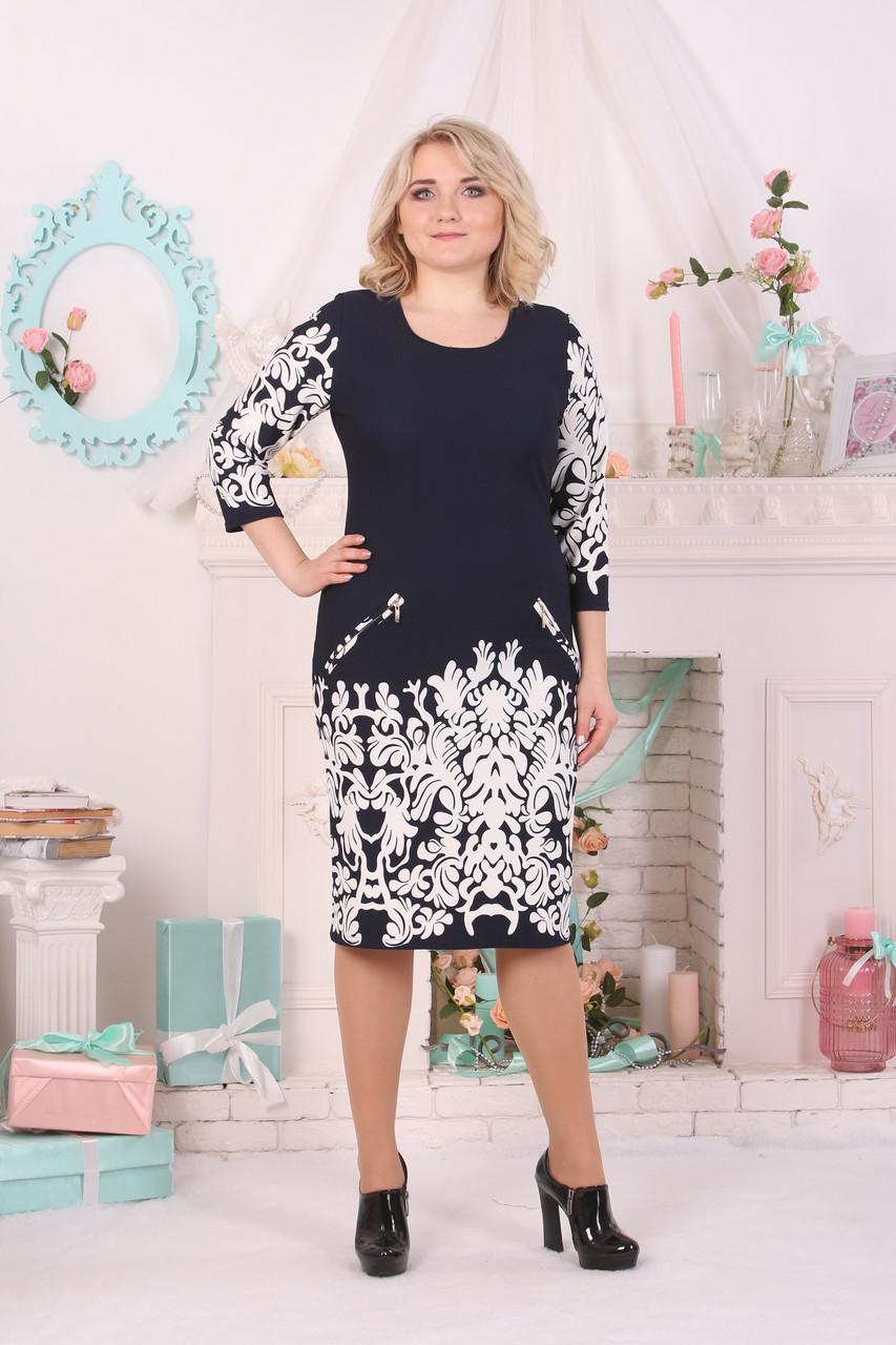 Платье Selta 702 размеры 50, 52, 54, 56