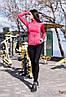 """Спортивные женские лосины """"ProFit"""" с контрастными вставками (3 цвета), фото 4"""