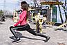 """Спортивные женские лосины """"ProFit"""" с контрастными вставками (3 цвета), фото 5"""