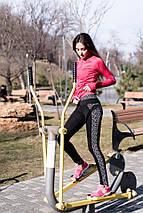 """Спортивные женские лосины """"ENERGY"""" с контрастными вставками, фото 2"""