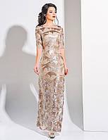 G 3029 Платье вечернее с пайеткой и узором, фото 1